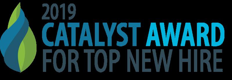 2019 Catalyst award banner
