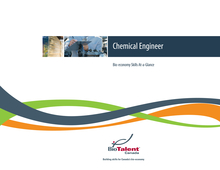 'Bio-economy Skills At-a-Glance' report cover